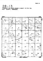 Township 28 North - Range 13 West, Holt County 1948